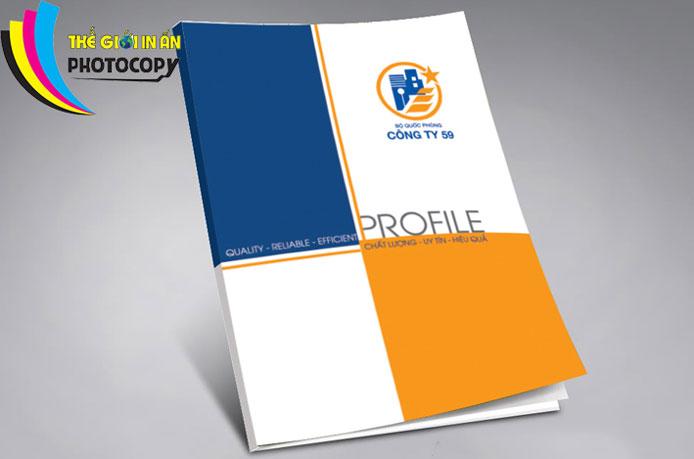 Catalogue đơn giản, nhưng ấn tượng cao