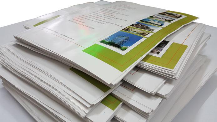 In tài liệu màu - hồ sơ năng lực