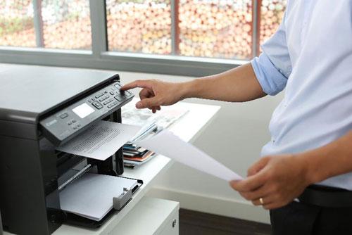 Hình ảnh máy in màu, photocopy