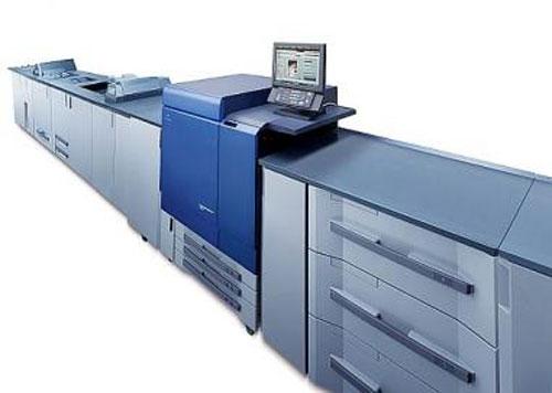 máy in màu laser konica