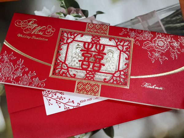 In thiếp cưới đẹp giá rẻ lấy ngay chỉ với 1.000đ/ cái tại Hà Nội