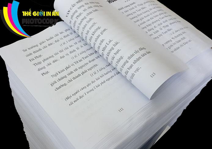 Photocopy giá rẻ Hà Nội giao hàng nhận hàng tận nơi