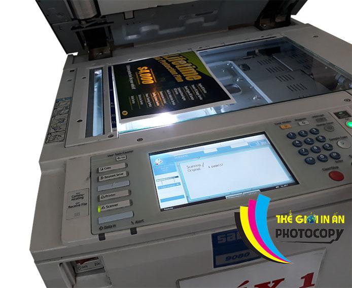 Hướng dẫn scan tài liệu từ máy đơn giả nhất