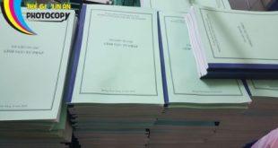 Photocopy giá rẻ tại Hà Nội