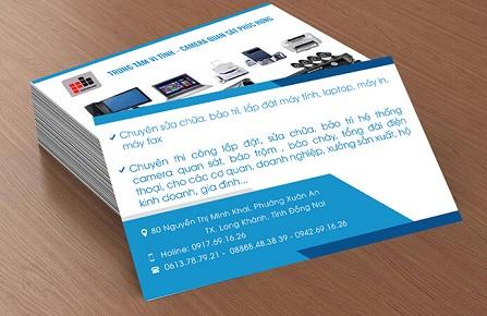 Một mẫu card visit đẹp và đơn giản cho doanh nghiệp