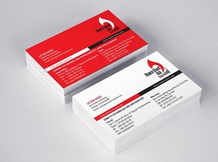 Tiêu chuẩn khi thiết kế mẫu card visit là gì