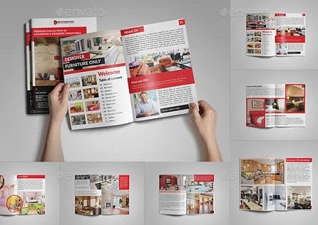 Mẫu catalogue đẹp giới thiệu sản phẩm của công ty