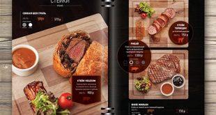Thiết kế menu nhà hàng theo xu hướng năm 2018