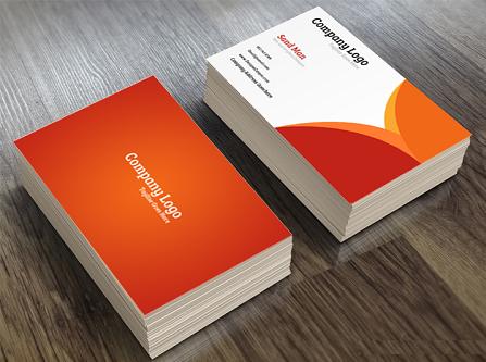 Một mẫu thiết kế business card đẹp