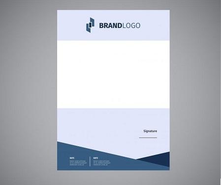 Kích thước letterhead công ty thường gặp