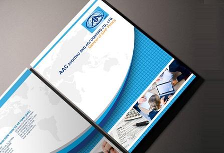 Mẫu trang bìa hồ sơ năng lực cho công ty kiểm toán và kế toán AAC