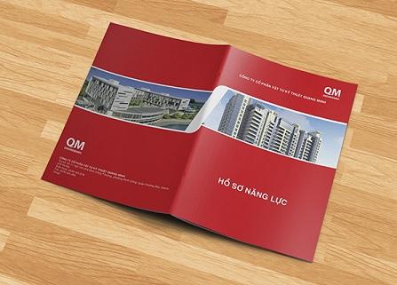 Hình ảnh mẫu bìa hồ sơ năng lực công ty ấn tượng