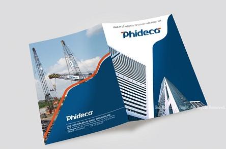 Một mẫu bìa hồ sơ năng lực đẹp cho công ty xây dựng