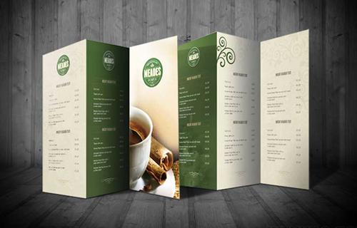 Làm thế nào để có một mẫu thiết kế menu cafe đẹp?