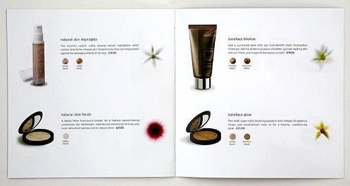 mẫu in catalogue mỹ phẩm đẹp