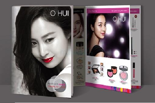 In catalogue mỹ phẩm Ohui Hàn Quốc