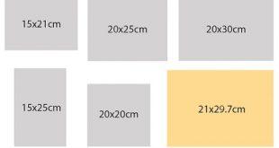 Các kích thước catalogue chuẩn trong in ấn
