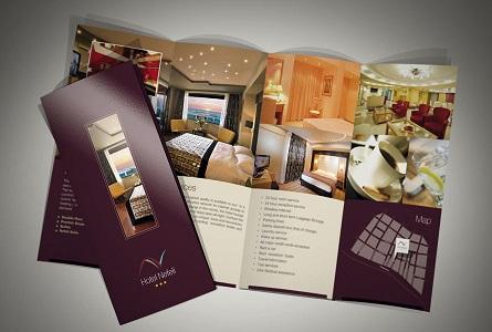 mẫu brochure khách sạn đẹp
