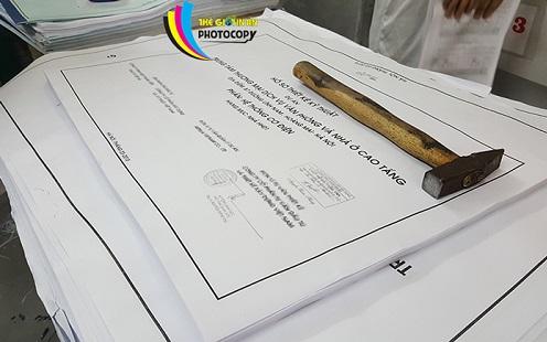 Dịch vụ photocopy khổ lớn giá rẻ tại Hà Nội