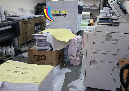 Photocopy khổ lớn - Photocopy A0, A1, A2 uy tín và chuyên nghiệp