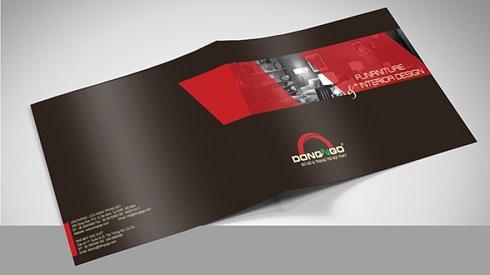 Mẫu trang bìa catalogue công ty thiết kế