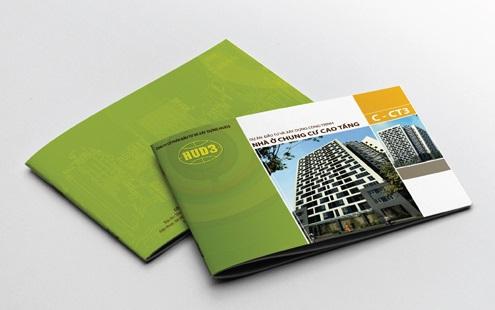 Mẫu trang bìa catalogue giới thiệu chung cư