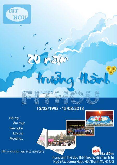 Poster kỷ niệm ngày thành lập