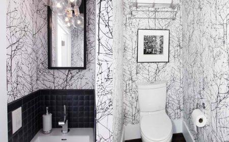 Những mẫu dán tường nhà tắm đẹp