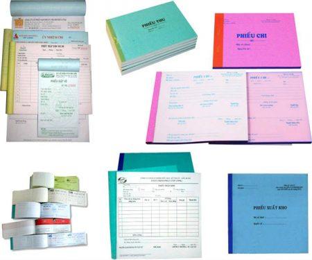 ứng dụng giấy carbonless