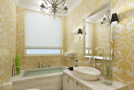 giấy dán tường nhà tắm