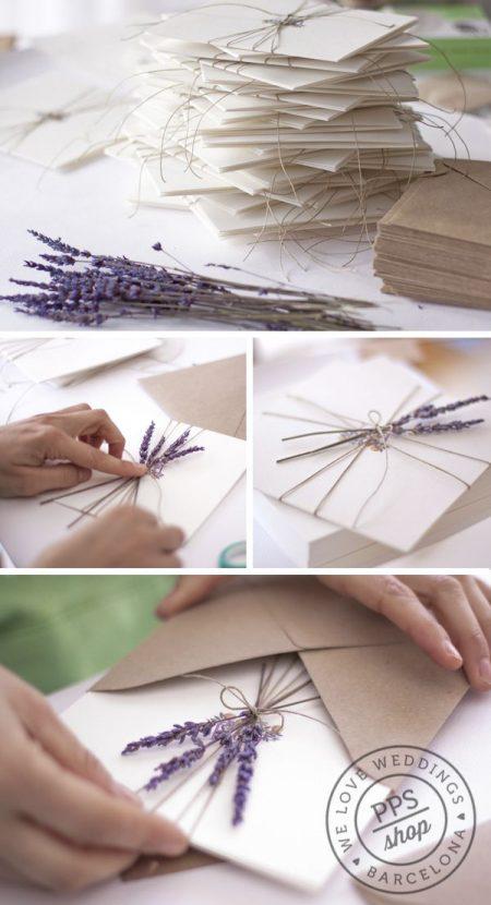 xu hướng thiệp cưới handmade