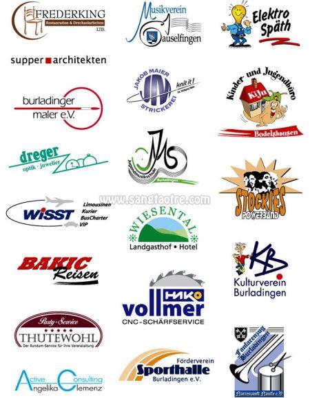 mẫu logo công ty sáng tạo