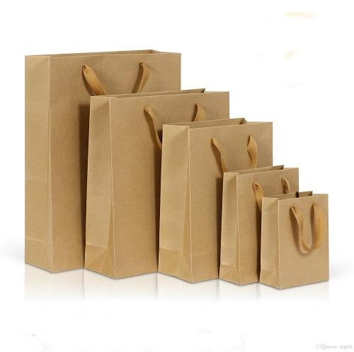 Sử dụng túi giấy để tiết kiệm