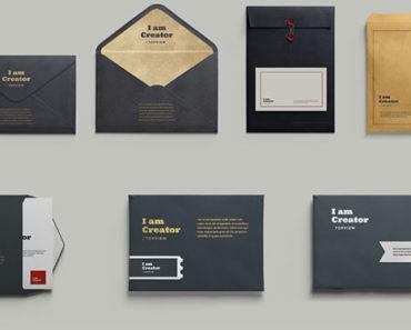 Các mẫu phong bì thư đẹp